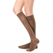 Bauerfeind VenoTrain Micro Class 2 Knee High Caramel Compression Stockings