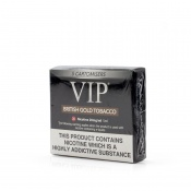 VIP Electronic Cigarette British Gold Tobacco High Strength E-Liquid Cartomisers