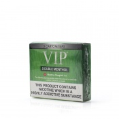 VIP Electronic Cigarette Double Menthol Regular Strength E-Liquid Cartomisers - Money Off!
