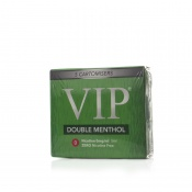 VIP Electronic Cigarette Double Menthol Zero Strength E-Liquid Cartomisers