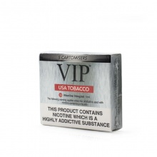 VIP Electronic Cigarette USA Tobacco Regular Strength E-Liquid Cartomisers