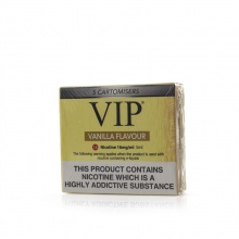 VIP Electronic Cigarette Vanilla E-Liquid Cartomisers