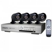 Watchguard CCTV Security Camera  System Complete Kit With 4 Cameras