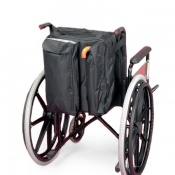 Wheelchair Bag With Crutch Pocket