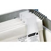 Wide Foolscap Filing Pockets for the Sunflower Medical Medical Notes Trolleys (Pack of 10)