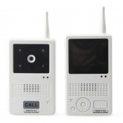Wireless Video Door Phone with 2.4 Inch Monitor