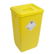 WIVA Yellow 60-Litre Clinical Waste Container