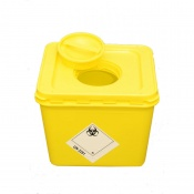 WIVA Yellow 30-Litre Clinical Waste Container