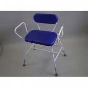 Basic Percher Stool With Padded Back