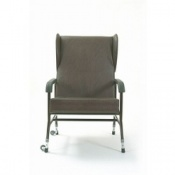 High Backed Upholstered Bariatric Chair Winged