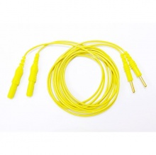 Yellow Electrode Cable for Primo Therapy Machines