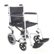 Folding Steel Transit Wheelchair