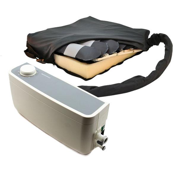 Système de coussin alternatif de décharge de pression d'air Stratus