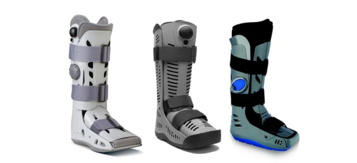 Walker Boots support, stabilise and protect the foot following serious injuries