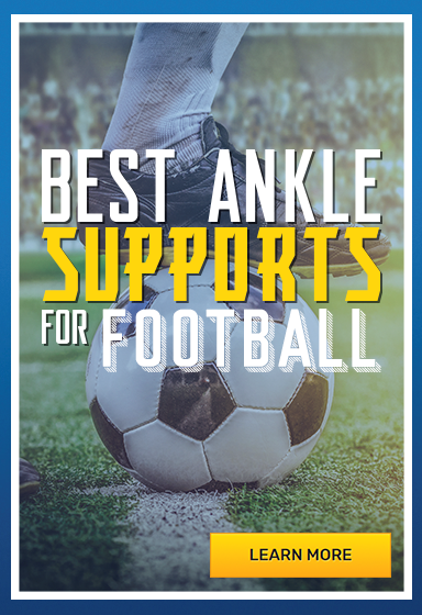 Our Best Ankle Braces for Football Support