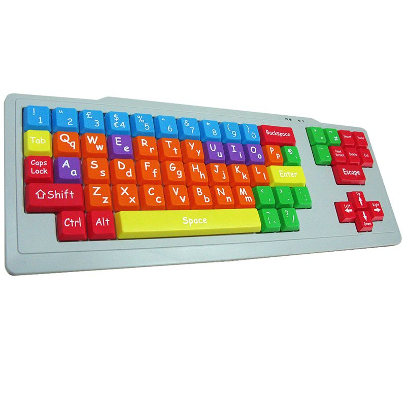 skd QWERTY keyboard for special needs children playlearn carers week 2017