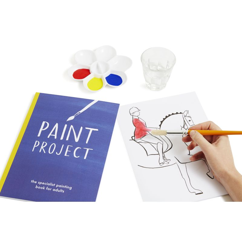 Active Minds Paint Project Dementia Painting Book