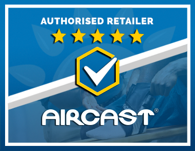 We Are an Authorised Retailer of Aircast Products