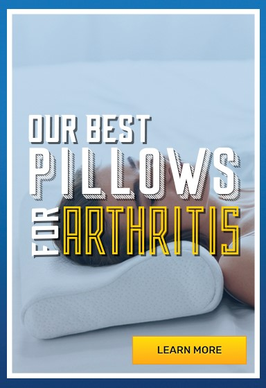Arthritis pillows to relieve pain and improve sleep