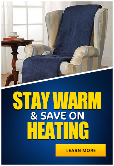 Keep Your Favourite Chair Cozy & Warm While Saving On Your Heating Bill!