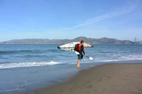 The Oru Kayak Is Easy to Carry and Use