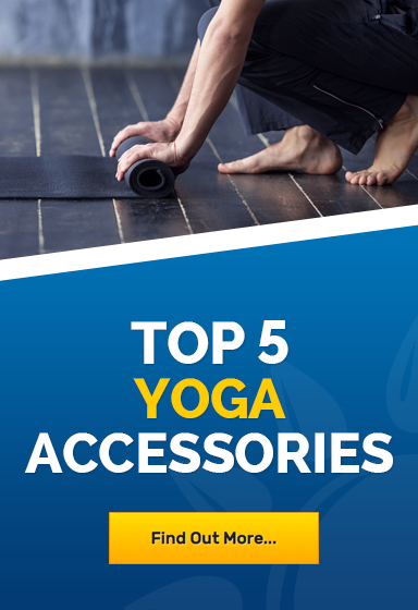 Top 5 yoga accessories