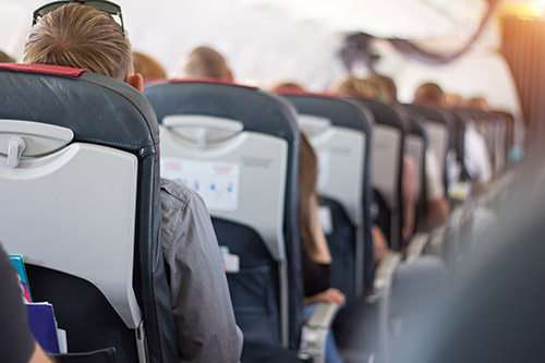 Choose an Aisle Seat on Your Next Flight