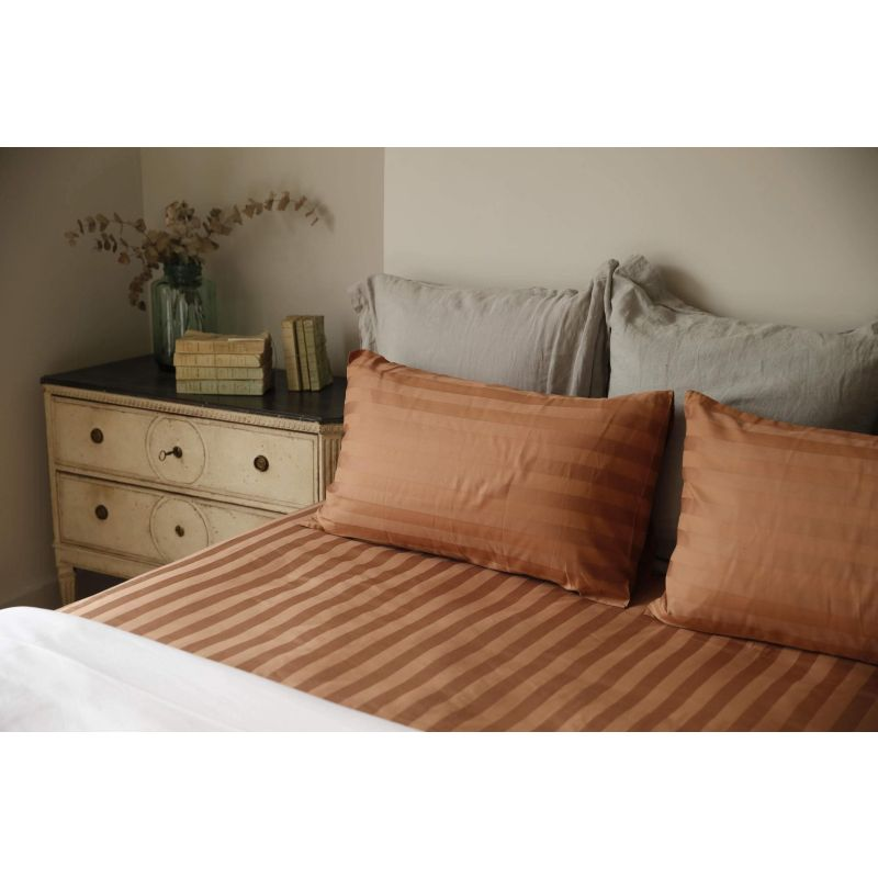 Anti-microbial copper bed sheets for double beds