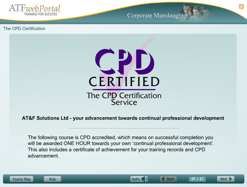 A Continued Professional Development Certified Course