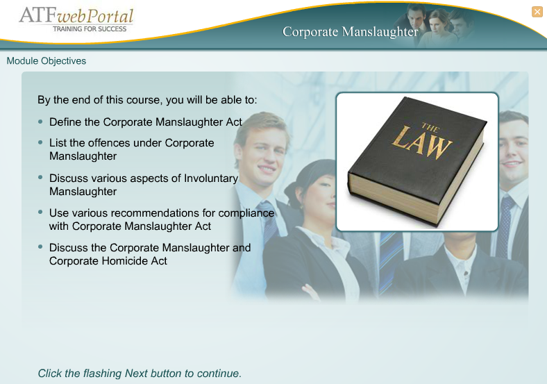 Learning About the Corporate Manslaughter Act