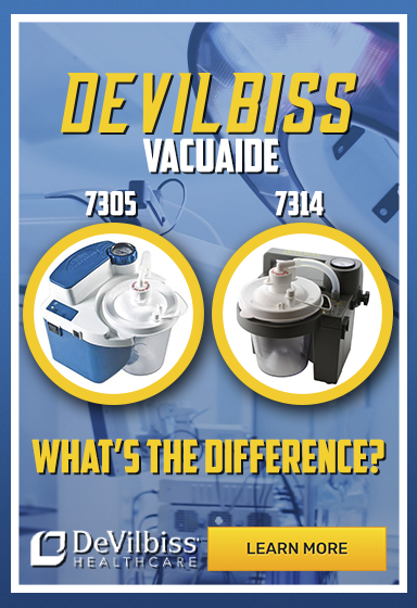 comparison of devilbiss suction machine 7305 and 7314 portable medical suction machiness