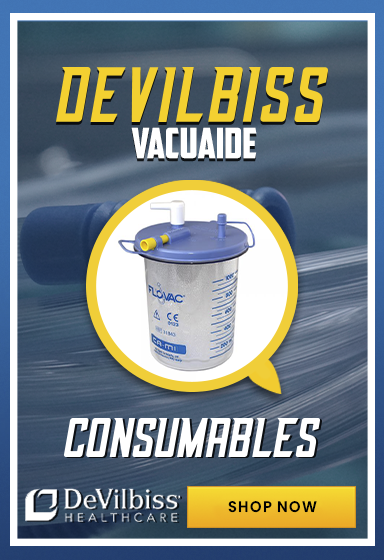 See our DeVillbiss VacuAide consumables
