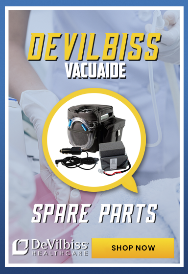 See our DeVillbiss VacuAide parts and accessories