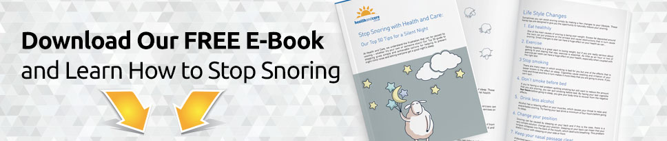 Download Our Free E-Book On How To Stop Snoring