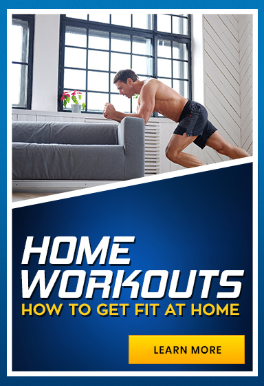 Get Fit from Home with our Guide to Working Out from Home