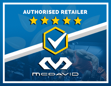 We Are an Authorised Retailer of McDavid Products