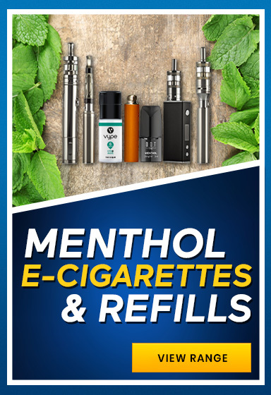 View Our Full Range of Menthol E-Liquid and Refills
