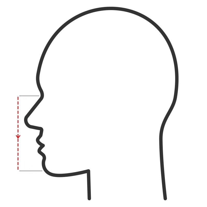 Moldex 7000 Series Face Masks Measurement Guide