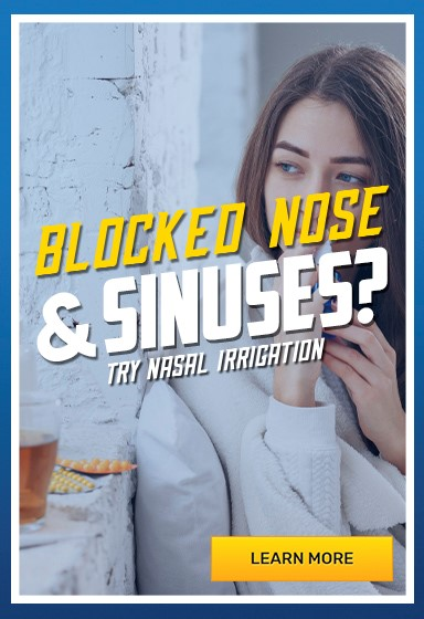 Our best products for sinus and nasal congestion