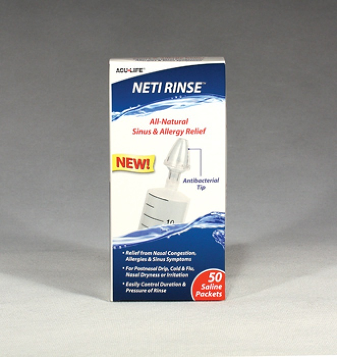 Neti Rinse system for nasal irrigation and nasal douching