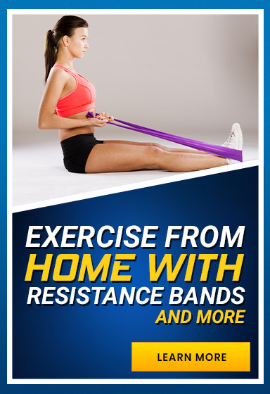 Exercise at Home with Resistance Bands