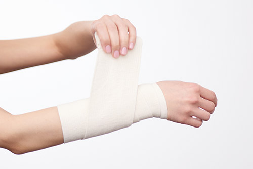 Proper wound care and dressing is essential for healing