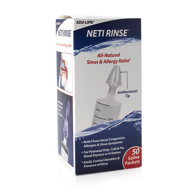 Acu-Life Neti Rinse Nasal Irrigation Kit