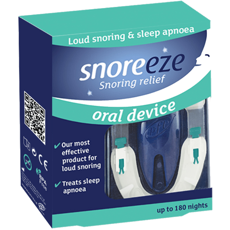 Snoreeze anti-snoring oral device
