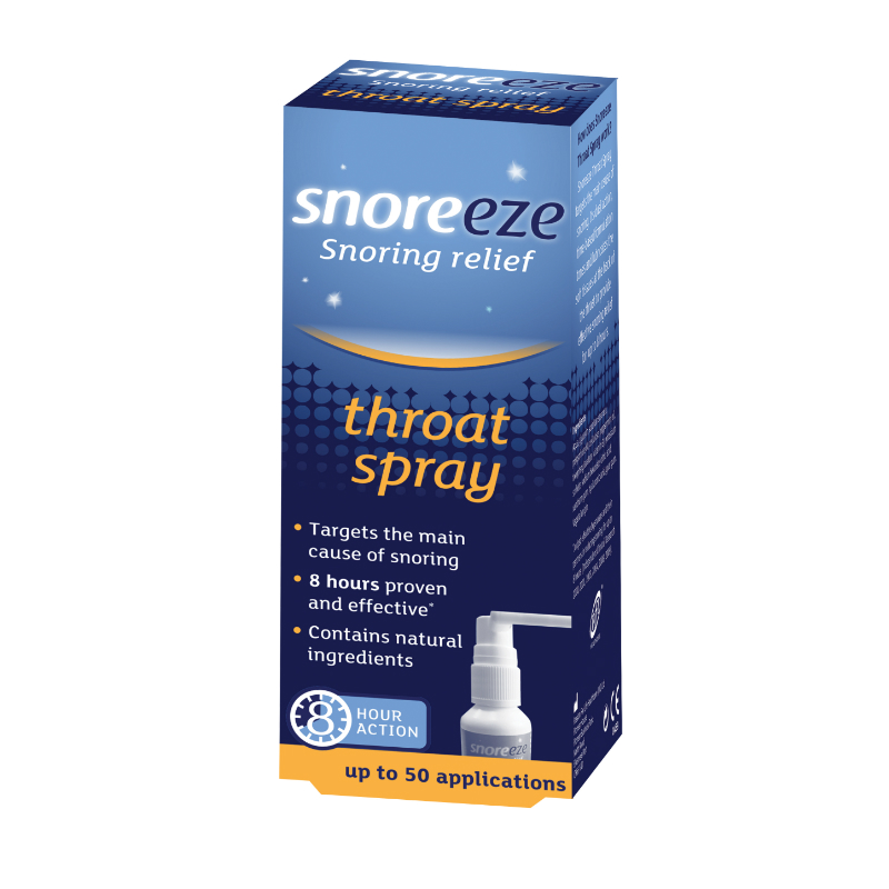 Snoreeze Snoring Prevention Throat Spray 23.5ml
