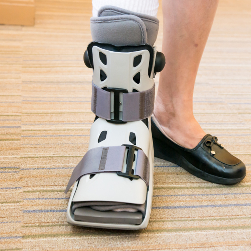Transitioning Out of a Walker Boot