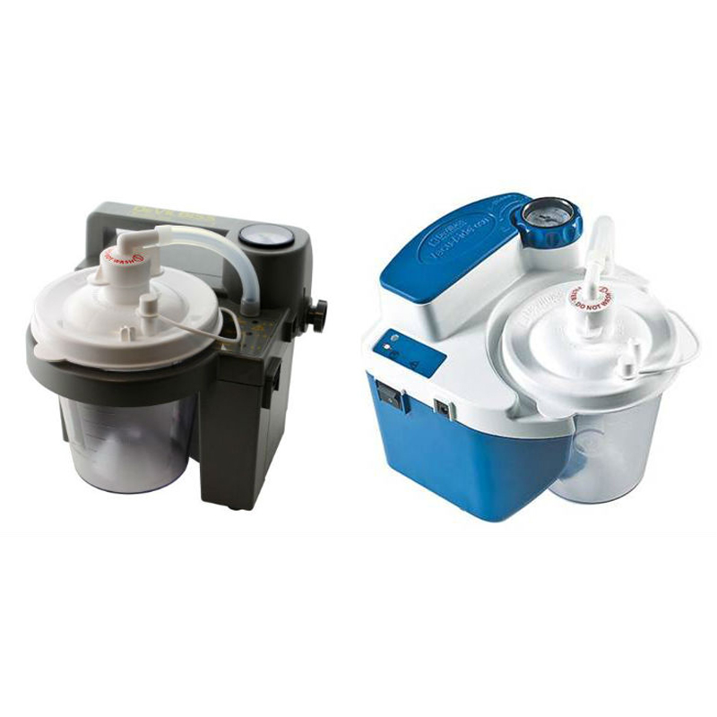 What Is the Difference Between the DeVilbiss VacuAide 7305 and 7314 Suction Machines?