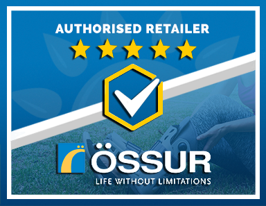 We Are an Authorised Retailer of Ossur Products
