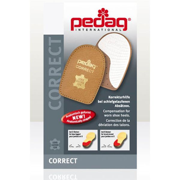 Pedag Correct Heel Pads to stop your shoes from wearing on one side