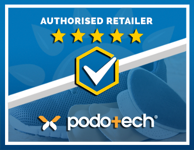 We Are an Authorised Retailer of Podotech Products